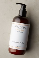 Anthropologie Apotheke Hand And Body Lotion Citrus Basil One Size Bath And Body