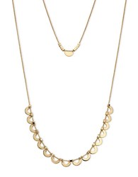 Ivanka Trump 10K Gold Plated Double Layered Necklace