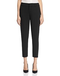 Alice Olivia Stacey Slim Cropped Pants Black