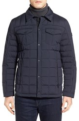 Tumi Men's 'Helium' Stretch Woven Down Shirt Jacket