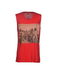 Lgb L.G.B. Topwear T Shirts Men Red