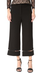 Alexander Wang Cropped Pants With Fishing Line Trim Matrix