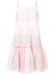 Lemlem Dera Mini Sundress Pink And Purple