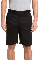 Nordstrom Big And Tall Shop Smartcare Tm Flat Front Shorts Black