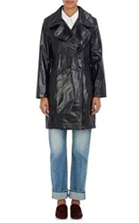 Simon Miller Women's Bowa Patent Leather Coat Black