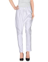 Brand Unique Trousers Casual Trousers Women White