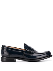 Church's Pembrey Penny Loafers Blue