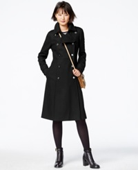 Rachel Rachel Roy Double Breasted Military Maxi Coat