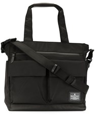 Makavelic Multi Pocket Logo Tote Bag 60