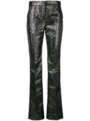 Redemption Smocked Trousers Silver