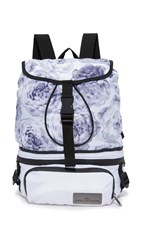 Adidas By Stella Mccartney Run Convertible Bag White Black Cream White