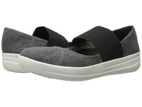 Fitflop Sporty Mary Jane Black Women's Lace Up Casual Shoes