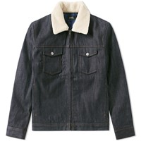 A.P.C. Bass Denim Blouson Blue
