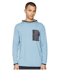 Quiksilver Waterman Explorer Technical Hoodie Blue Shadow Sweatshirt