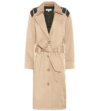Opening Ceremony Inside Out Trench Coat Beige