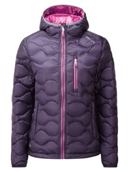 Tog 24 Montreal Womens Down Jacket Purple