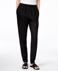Eileen Fisher Slouchy Relaxed Fit Pants Black