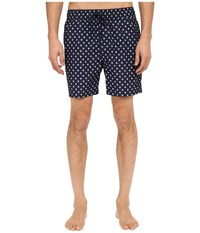 Jack Spade Mini Tree Grannis Swim Trunks Navy Men's Swimwear