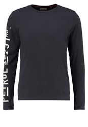 Petrol Industries Long Sleeved Top Steal Anthracite