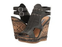 Not Rated Meta Black Women's Wedge Shoes
