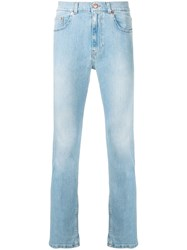 Tom Wood Slim Fit Jeans Blue