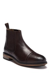 Steve Madden Wingtip Boot Brown Leat