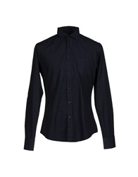 Trussardi Jeans Shirts Dark Blue