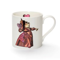 Mrs Moore's Vintage Store Red Queen Mug