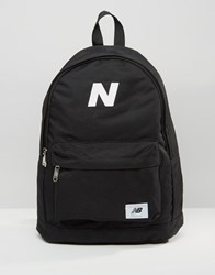 New Balance Mellow Backpack In Black Black