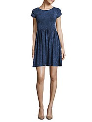 French Connection Beach Jersey Roundneck Dress Indian Ocean