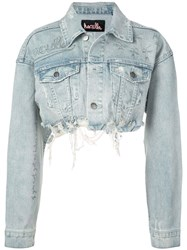 Haculla Cropped Denim Jacket Blue