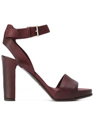Roberto Del Carlo Sharm Sandals Red