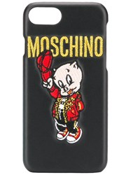 Moschino Iphone 8 Case Black