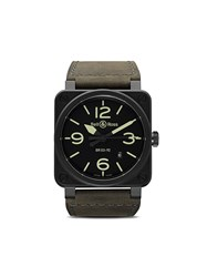 Bell And Ross Br 03 92 Nightlum 42Mm Black And Green