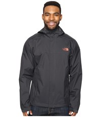 The North Face Venture 2 Jacket Asphalt Grey Asphalt Grey Sunbaked Red Men's Coat Black