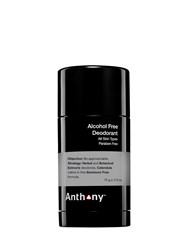 Anthony Logistics For Men Alcohol Free Solid Stick Deodorant Transparent