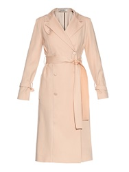 Nina Ricci Wool And Cotton Blend Trench Coat