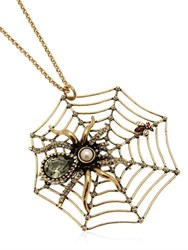 Alcozer And J. Spider Necklace
