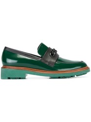 Robert Clergerie 'Jate' Loafers Green