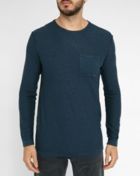 Minimum Navy Haral Pr Round Neck Sweater Blue