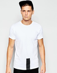 Han Kjobenhavn Han T Shirt With Colour Block White