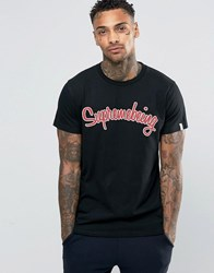 Supreme Being Scripted T Shirt Black