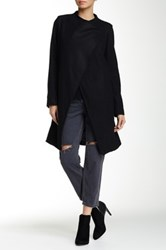 Luma Wool Blend Coat Black