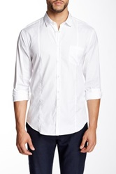 John Varvatos Collection Solid Slim Fit Shirt White
