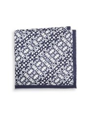 Hook Albert State Silk Pocket Square Nation County State
