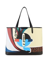 Mary Katrantzou Q Melina Coated Canvas Tote