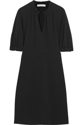 Vanessa Bruno Gabaret Crepe Dress Black