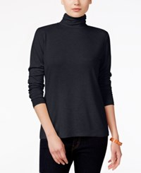 Styleandco. Style Co. Mock Turtleneck Top Only At Macy's Dark Grape
