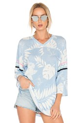 Wildfox Couture Vacay All Day Top Blue