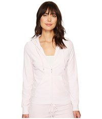 Juicy Couture Robertson Velour Jacket Peek A Boo Women's Coat White